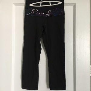 Lululemon wunder under cropped leggings